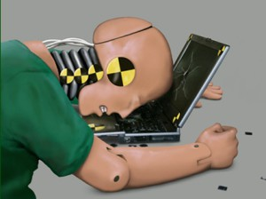 crashtest dummy computer
